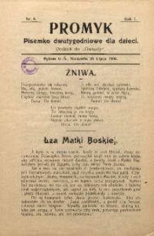 Promyk, 1904, R. 1, Nr. 9