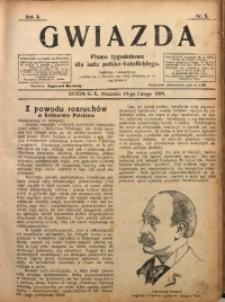 Gwiazda. Pismo Tygodniowe dla Ludu Polsko-Katolickiego, 1905, R. 3, Nr. 8