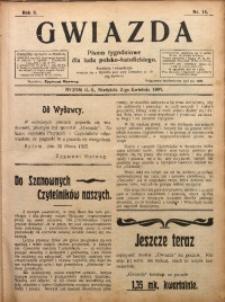 Gwiazda. Pismo Tygodniowe dla Ludu Polsko-Katolickiego, 1905, R. 3, Nr. 14