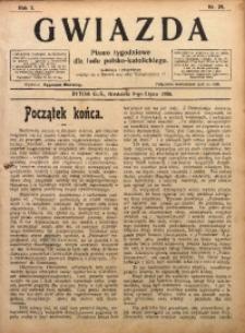 Gwiazda. Pismo Tygodniowe dla Ludu Polsko-Katolickiego, 1905, R. 3, Nr. 28