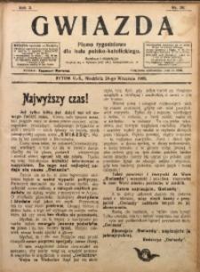 Gwiazda. Pismo Tygodniowe dla Ludu Polsko-Katolickiego, 1905, R. 3, Nr. 39