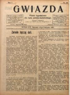 Gwiazda. Pismo Tygodniowe dla Ludu Polsko-Katolickiego, 1905, R. 3, Nr. 46