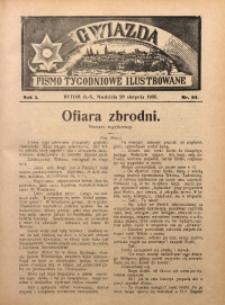 Gwiazda. Pismo Tygodniowe Ilustrowane, 1905, R. 3, Nr. 34