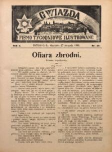 Gwiazda. Pismo Tygodniowe Ilustrowane, 1905, R. 3, Nr. 35