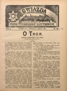 Gwiazda. Pismo Tygodniowe Ilustrowane, 1905, R. 3, Nr. 50