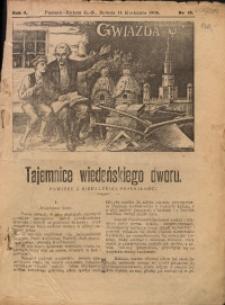 Gwiazda, 1906, R. 4, Nr. 15