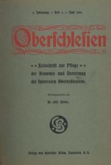 Oberschlesien, 1904, Jg. 3, H. 3