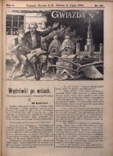 Gwiazda, 1906, R. 4, Nr. 29