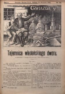 Gwiazda, 1906, R. 4, Nr. 34