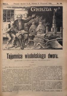 Gwiazda, 1906, R. 4, Nr. 38