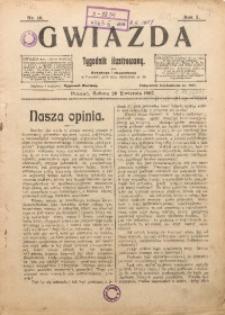 Gwiazda. Tygodnik Ilustrowany, 1907, R. 4, Nr. 16