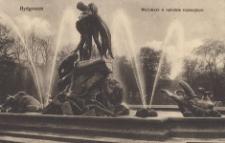 Bydgoszcz. Wodotrysk w ogrodzie rejencyjnym
