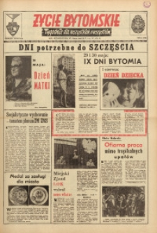 Życie Bytomskie, 1971, R. 15, nr 21 (756)