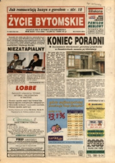 Życie Bytomskie, 1999, R. 43, nr 44 (2214)
