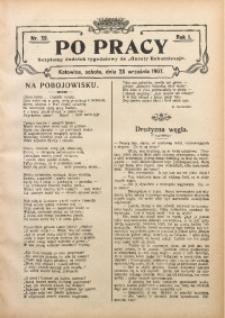 Po Pracy, 1907, R. 1, Nr. 39