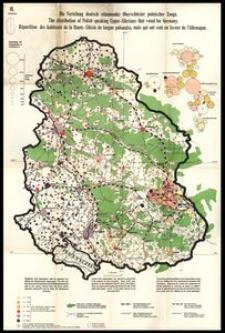 Struktur III: Die Verteilung deutsch stimmender Oberschlesier polnischer Zunge