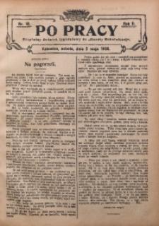 Po Pracy, 1908, R. 2, Nr. 18