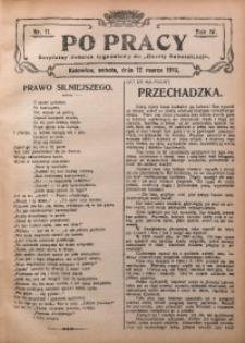 Po Pracy, 1910, R. 4, Nr. 11