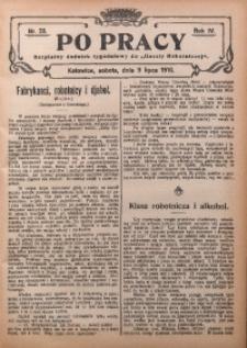 Po Pracy, 1910, R. 4, Nr. 28