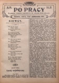 Po Pracy, 1910, R. 4, Nr. 40