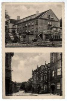 Nikolai O/S. Knappschafts – Krankenhaus. Eichendorffstrasse mit Josefsstift