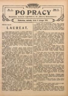 Po Pracy, 1911, R. 5, Nr. 5