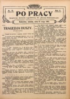 Po Pracy, 1911, R. 5, Nr. 19