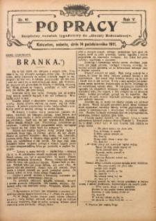 Po Pracy, 1911, R. 5, Nr. 41