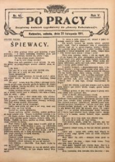 Po Pracy, 1911, R. 5, Nr. 47