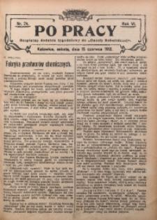 Po Pracy, 1912, R. 6, Nr. 24