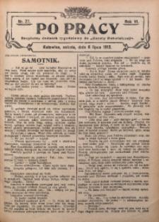 Po Pracy, 1912, R. 6, Nr. 27