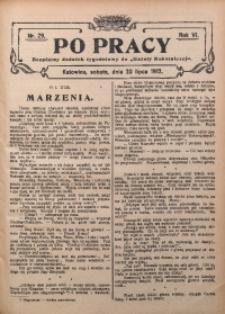 Po Pracy, 1912, R. 6, Nr. 29