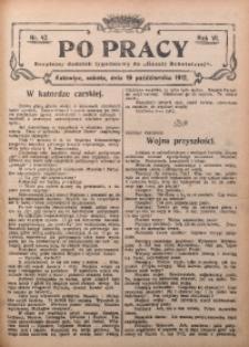 Po Pracy, 1912, R. 6, Nr. 42