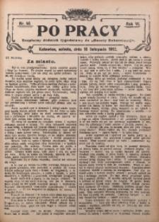 Po Pracy, 1912, R. 6, Nr. 46