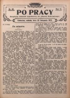 Po Pracy, 1912, R. 6, Nr. 48