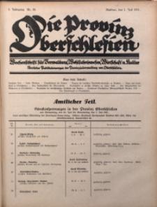 Die Provinz Oberschlesien, 1927, Jg. 2, Nr. 26