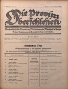 Die Provinz Oberschlesien, 1927, Jg. 2, Nr. 32