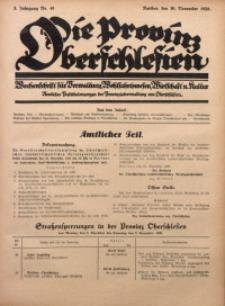 Die Provinz Oberschlesien, 1928, Jg. 3, Nr. 48