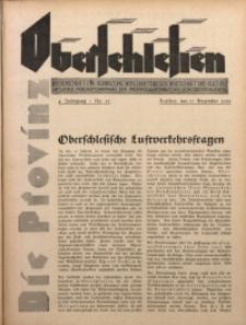 Die Provinz Oberschlesien, 1929, Jg. 4, Nr. 52