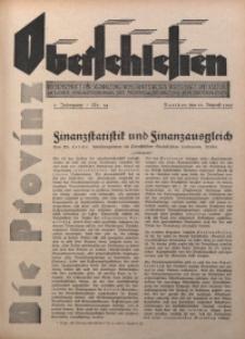 Die Provinz Oberschlesien, 1930, Jg. 5, Nr. 34