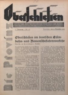 Die Provinz Oberschlesien, 1930, Jg. 5, Nr. 51