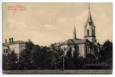 Dzieditz – Kirche. Dziedzice – Kościół