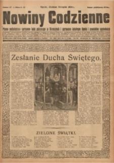 Nowiny Codzienne, 1931, R. 21, nr 117