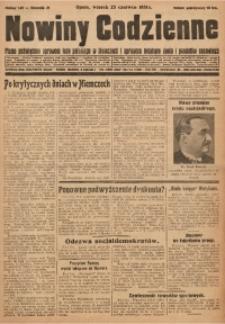 Nowiny Codzienne, 1931, R. 21, nr 140