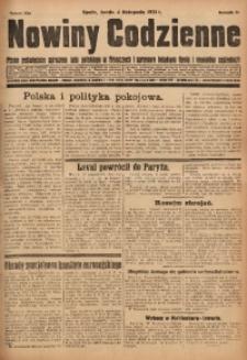 Nowiny Codzienne, 1931, R. 21, nr 254