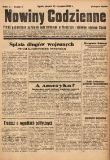 Nowiny Codzienne, 1932, R. 22, nr 11