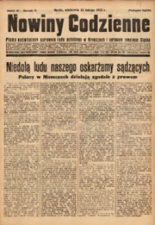 Nowiny Codzienne, 1932, R. 22, nr 42