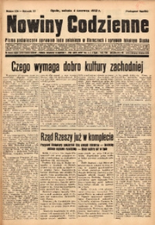 Nowiny Codzienne, 1932, R. 22, nr 126