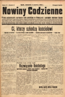 Nowiny Codzienne, 1932, R. 22, nr 127