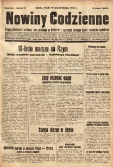 Nowiny Codzienne, 1932, R. 22, nr 240